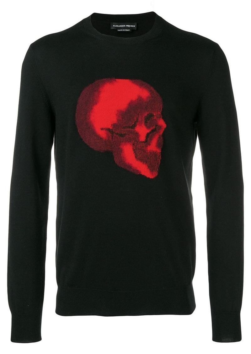 Alexander McQueen skull sweatshirt