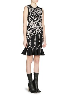 Alexander McQueen Sleeveless Mini Dress
