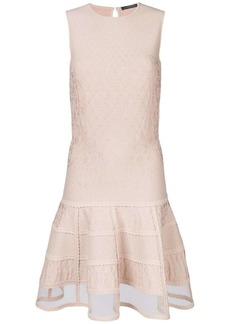 Alexander McQueen Sleeveless Mini Knit dress