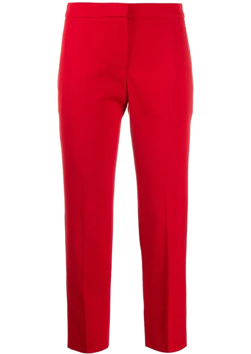 Alexander McQueen slim-fit cropped trousers
