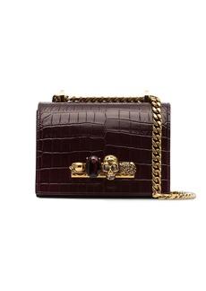 Alexander McQueen small jewelled crossbody bag