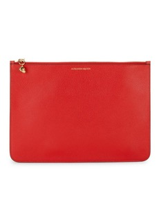 Alexander McQueen Small Leather Zip Pouch