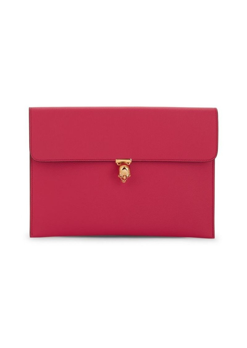 Alexander McQueen Small Skull Leather Pouch