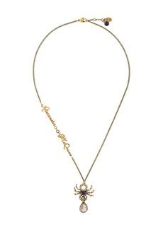 Alexander McQueen Spider necklace
