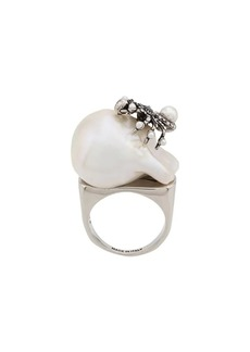 Alexander McQueen spider pearl ring