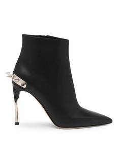 Alexander McQueen Punk Stud Leather Booties