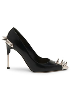 Alexander McQueen Punk Stud Leather Pumps