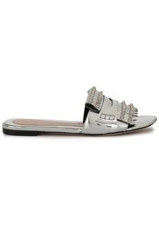 Alexander McQueen spike slide sandals