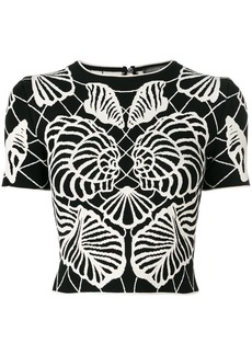 Alexander McQueen Spine Shell top