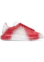 Alexander McQueen Spray Effect Low-Top Sneakers