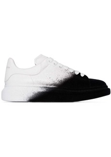 Alexander McQueen spray paint low-top sneakers