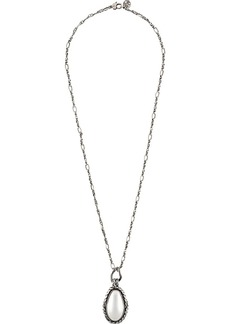 Alexander McQueen stone-embellished long necklace