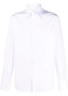 Alexander McQueen straight-point collar shirt