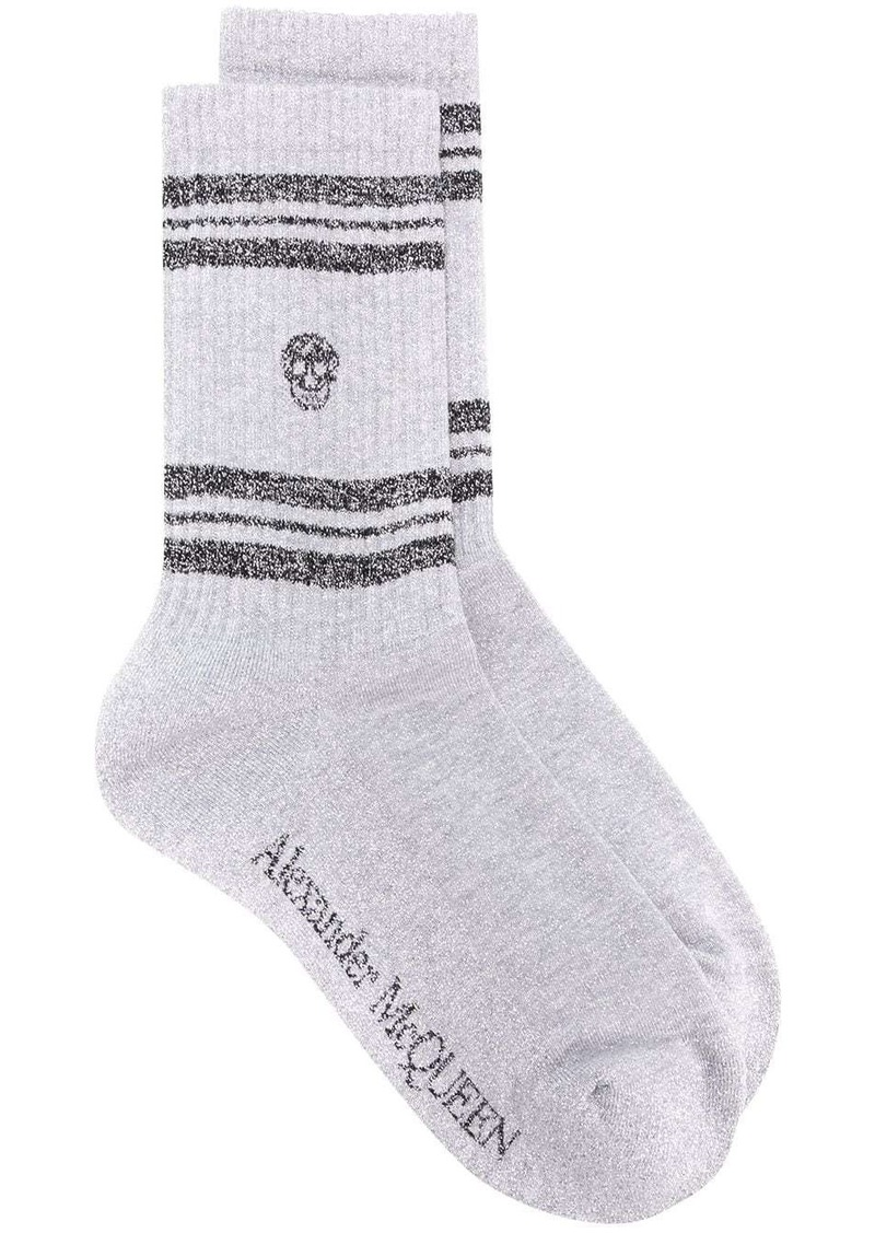 Stripe Skull Sport socks