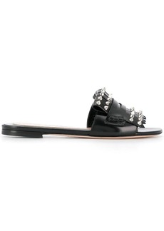 Alexander McQueen studded gladiator sandals
