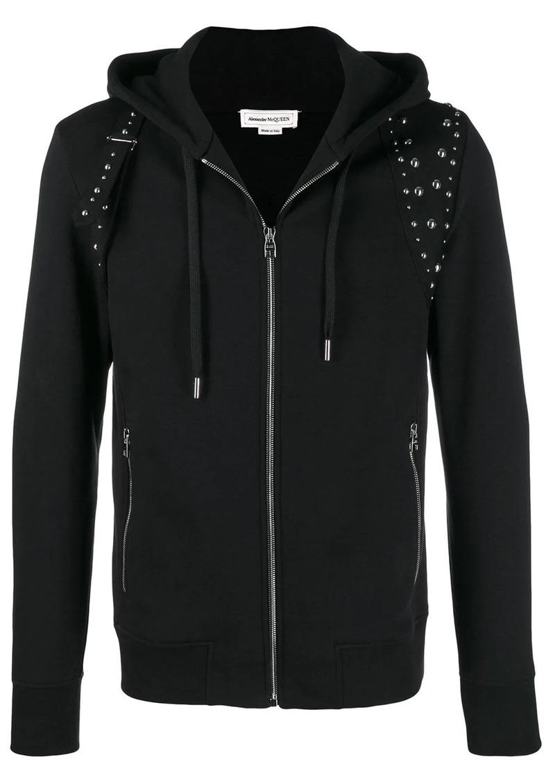 Alexander McQueen studded hoodie