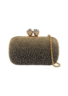 Alexander McQueen Studded King & Queen Clutch