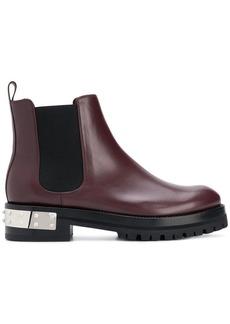 Alexander McQueen studded logo plaque Chelsea boots