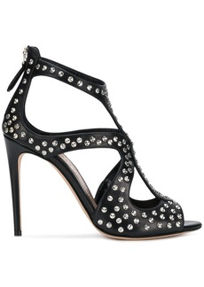 Alexander McQueen studded T-bar sandals