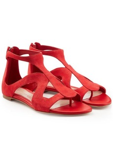 Alexander McQueen Suede Sandals