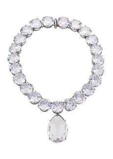 Alexander McQueen Swarovski Crystal Collar Pendant Necklace