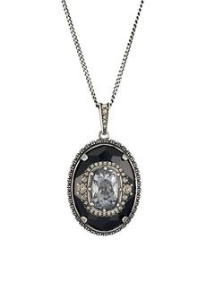 Alexander McQueen Swarovski Crystal Pendant Necklace