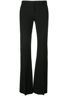 Alexander McQueen tailored bootcut trousers