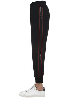 Alexander McQueen Techno Jogging Pants W/logo Tape