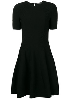 Alexander McQueen textured skater dress