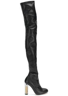 Alexander McQueen thigh high boots