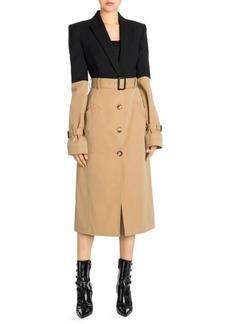 Alexander McQueen Trompe Trench Coat