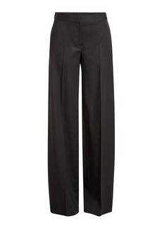 Alexander McQueen Virgin Wool Wide-Leg Pants