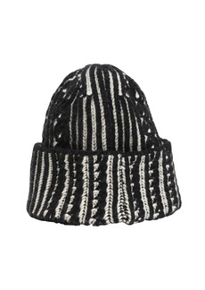 Alexander McQueen Wool & Cashmere Cable Knit Beanie