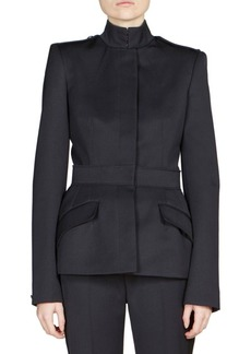 Alexander McQueen Wool Military Jacket