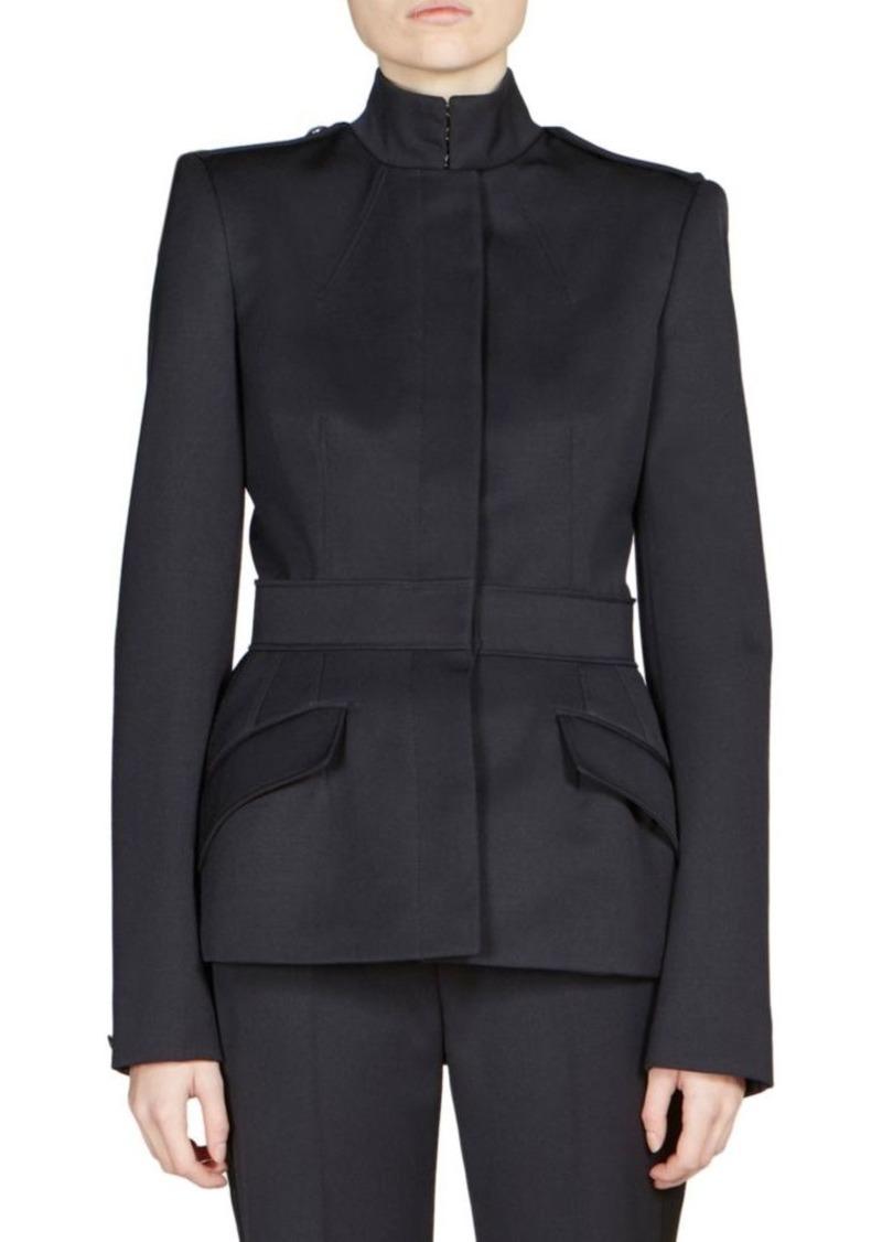 Alexander McQueen Wool Military Jacket