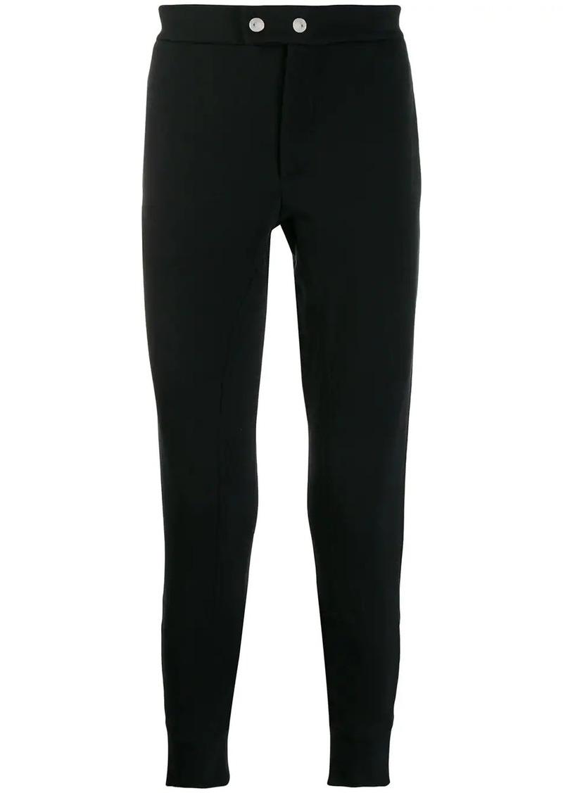 Alexander McQueen zipped details track trousers