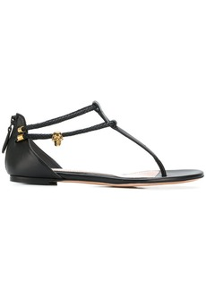 Alexander McQueen zipped sandals