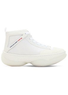 Alexander Wang 40mm A1 Leather & Mesh Sneakers