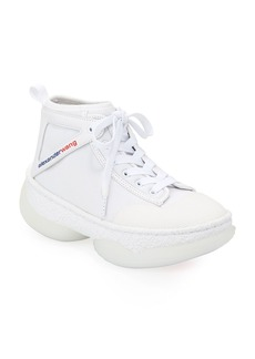 Alexander Wang A1 Lace-Up High-Top Sneakers