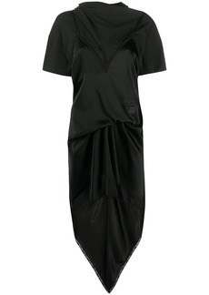 Alexander Wang asymmetric layered style dress