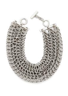 Alexander Wang 3 Row Box Chain Necklace