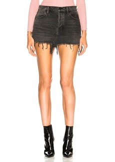 Alexander Wang 5 Pocket Zip Skirt