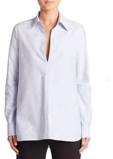 Alexander Wang A-Line Cotton Tunic Shirt