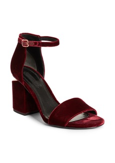 Alexander Wang Abby Notch Heel Sandal (Women)
