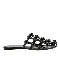 Alexander Wang Amelia Leather Stud Slippers