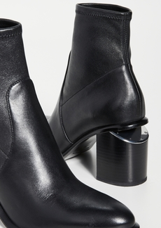 Alexander Wang Anna Mid Heel Stretch Booties