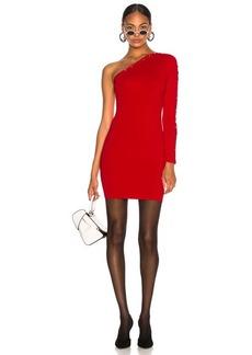Alexander Wang Asymmetrical Long Sleeve Dress