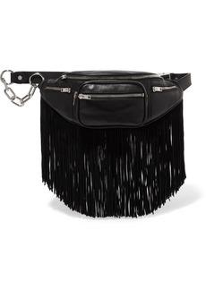 Alexander Wang Attica fringed leather belt bag