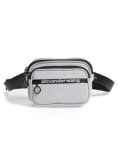 Alexander Wang Attica Logo Leather Belt Bag