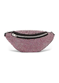 Alexander Wang Attica Soft Mini Rhinestone Fanny Crossbody Bag